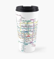 People's Republic of China - Beijing - Rail Transit Map - HD Travel Mug