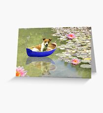 The Boat Is Back In Town Greeting Card