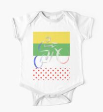 Le Tour Short Sleeve Baby One-Piece
