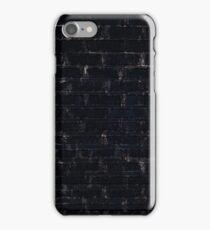 Black Bricks iPhone Case/Skin