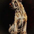 Hundeportrait 63 von kevin Chippindall