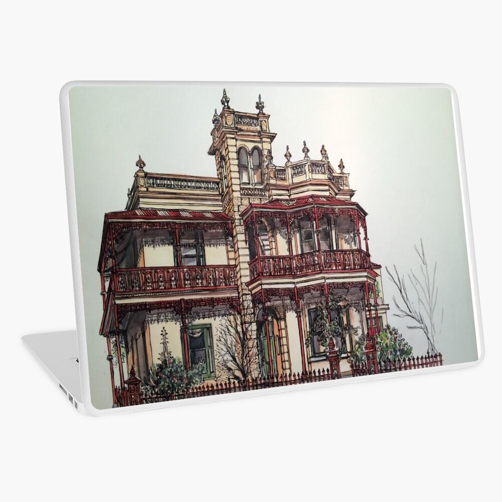 Phryne Fisher's house 'Wardlow'©.  Laptop Skin