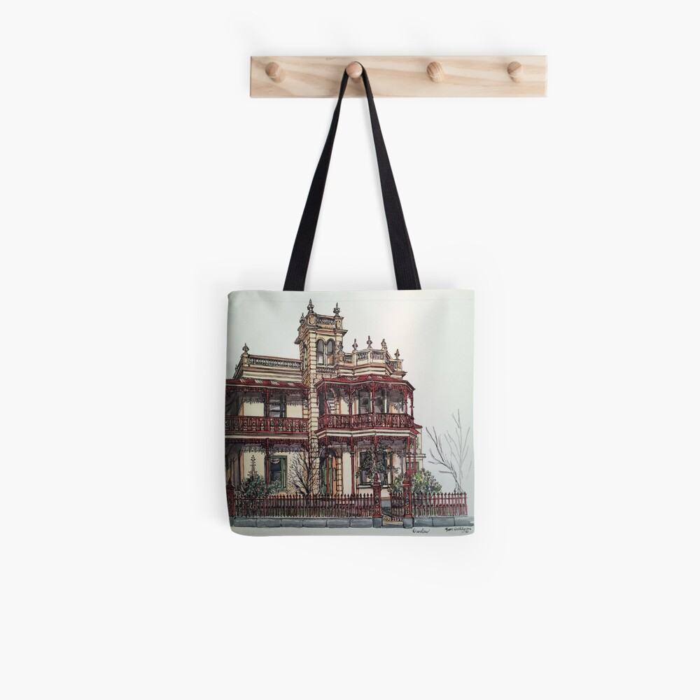 Phryne Fisher's house 'Wardlow'©.  Tote Bag