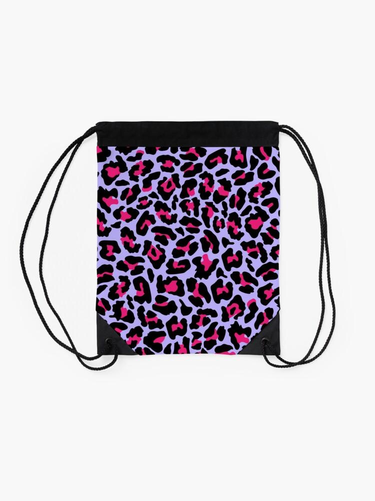 Alternate view of Neonpard Drawstring Bag