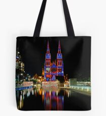Vivid Sydney 2010 | St. Mary's Cathedral 3 Tote Bag