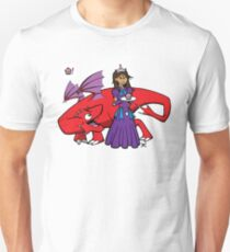 Dragons <3 Cupcakes Unisex T-Shirt