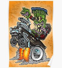 Franken-Wheelie Poster