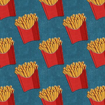 FAST FOOD / Fries - pattern by danielcoulmann