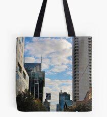 Streetscape in Melbourne Tote Bag