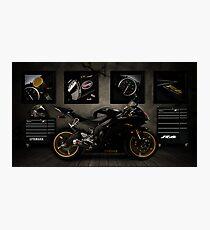 Yamaha R6 Photographic Print