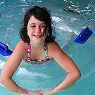 cutie with a float by raindancerwoman