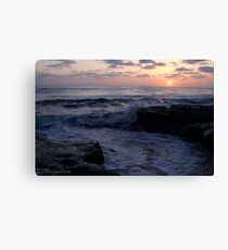 Sunset Sea Canvas Print