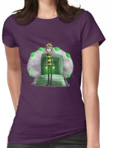 jellyfish boy 4... Womens Fitted T-Shirt