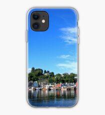 Blue Sky in Balamory iPhone Case