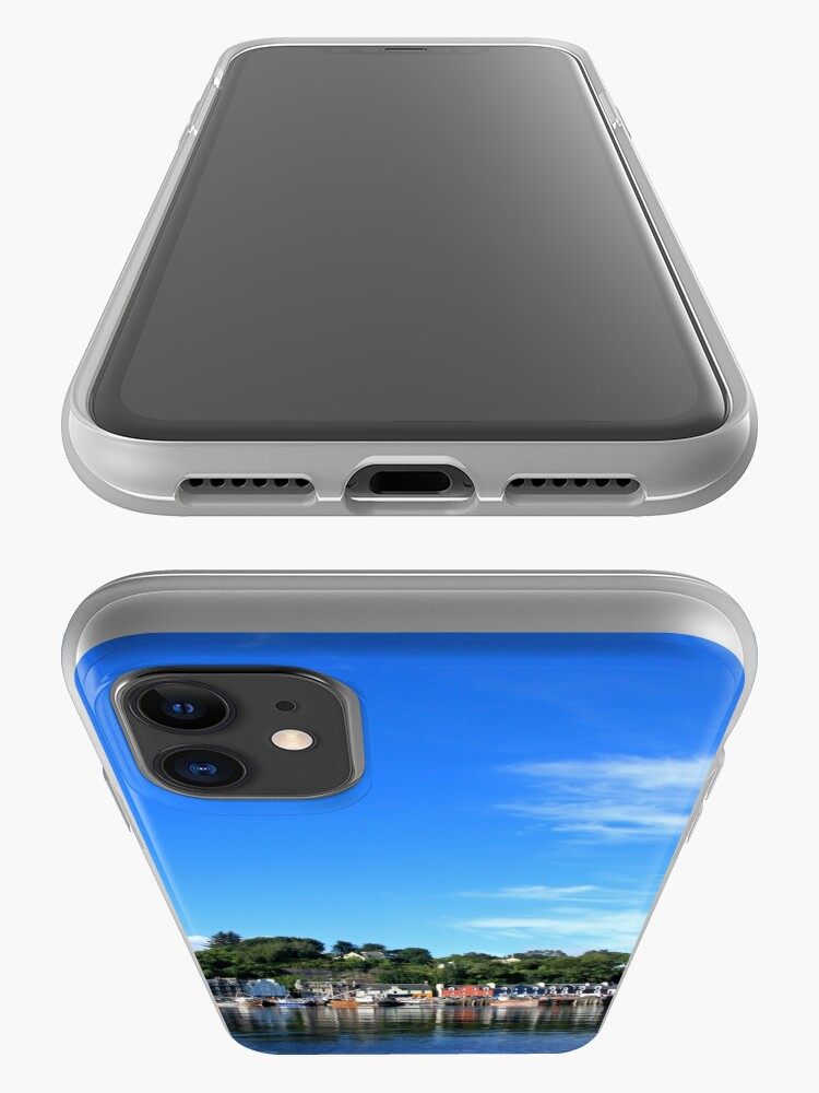 Alternate view of Blue Sky in Balamory iPhone Case & Cover