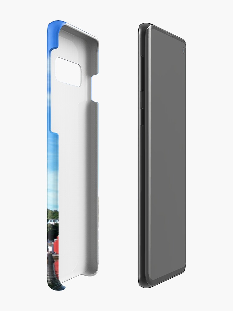 Alternate view of Blue Sky in Balamory Case & Skin for Samsung Galaxy
