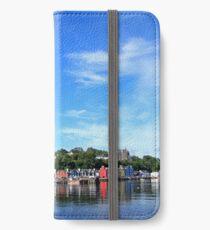 Blue Sky in Balamory iPhone Wallet/Case/Skin