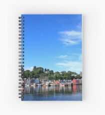 Blue Sky in Balamory Spiral Notebook