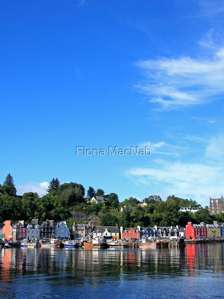 Blue Sky in Balamory by orcadia
