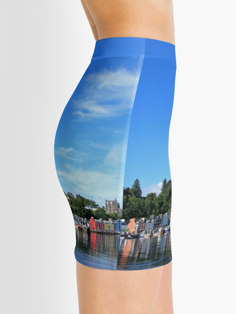 Alternate view of Blue Sky in Balamory Mini Skirt