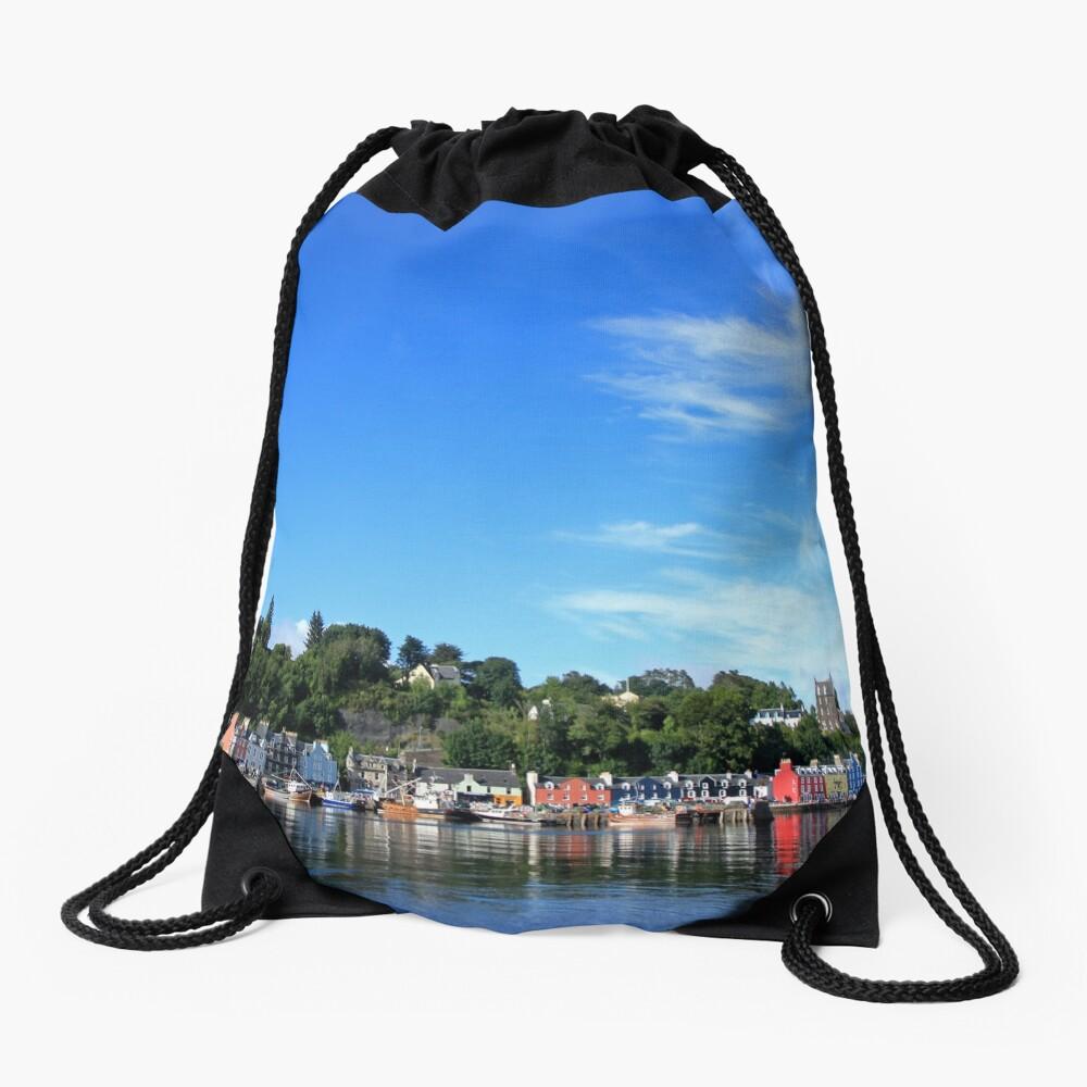 Blue Sky in Balamory Drawstring Bag