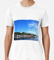 Blue Sky in Balamory Premium T-Shirt