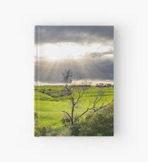 Shining at greens Hardcover Journal