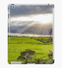 Shining at greens iPad Case/Skin