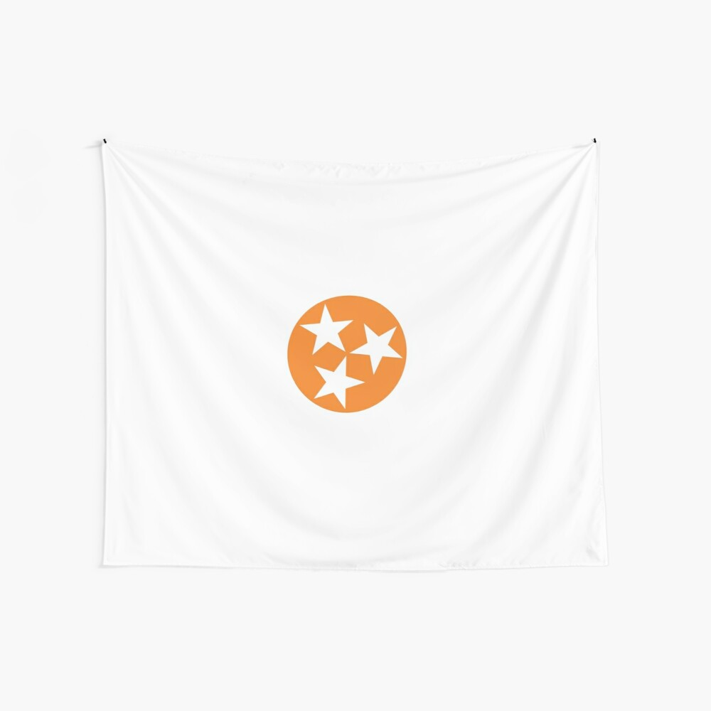 Tennessee Orange Tristar Wall Tapestry