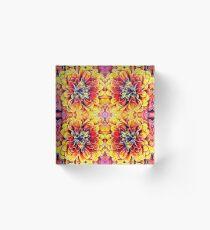 Dahlia Dreaming Acrylic Block