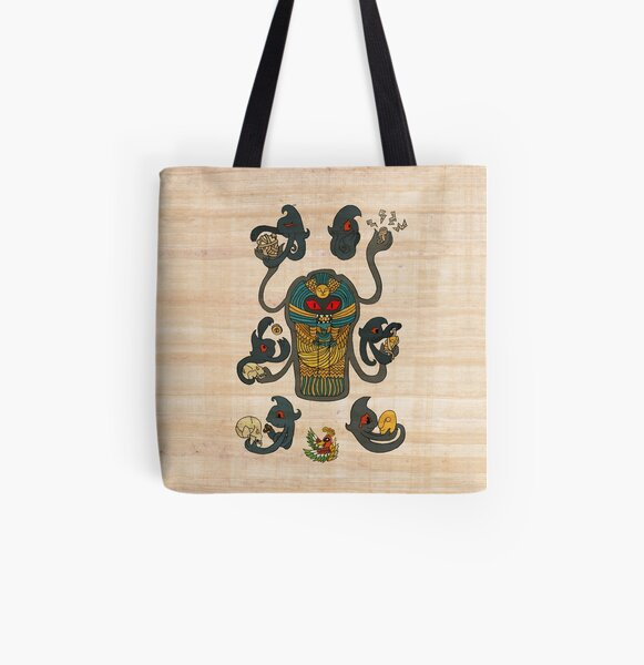 Cofagrigus & Yamask All Over Print Tote Bag