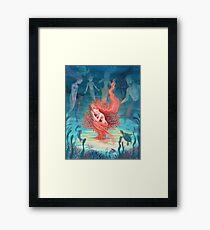 Living Coral Framed Print