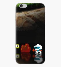 Dig Dug pixel art iPhone Case