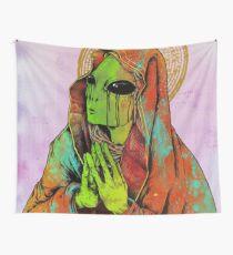 Alien zu beten Wandbehang