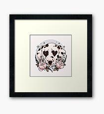 Dalmatiner Hund Gerahmtes Wandbild
