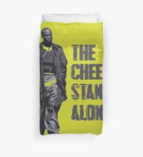 Omar Little - The Cheese Stands Alone Duvet Cover