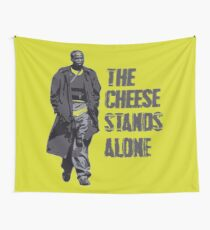 Omar Little - The Cheese Stands Alone Wall Tapestry