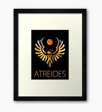 Atreides of Dune - Hue Shift Framed Print