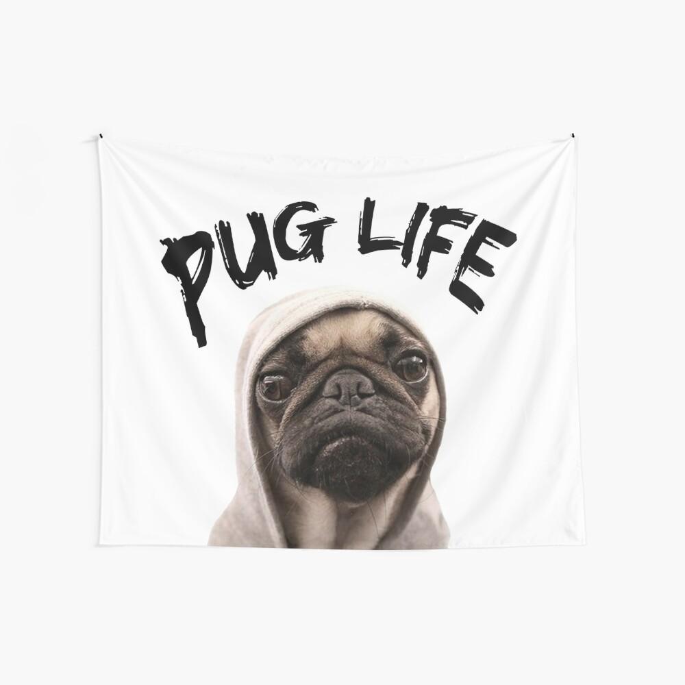 Vida Pug Tela decorativa