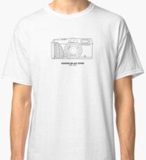 Vintage-Filmfotografie: Hasselblad XPan (T-Shirt, Aufkleber, Becher) Classic T-Shirt