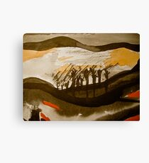 tall tree people....... homecoming Canvas Print