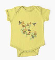 Phono und Fauna Baby Body Kurzarm