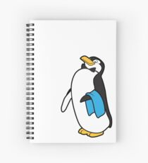 Ms. Poppins Penguin Spiral Notebook