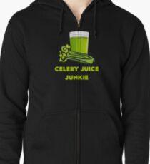 Celery Juice Junkie Zipped Hoodie