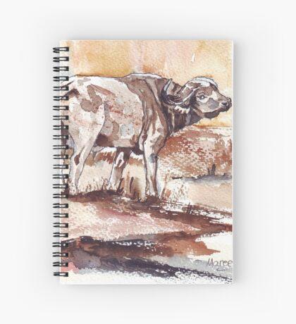 African Buffalo Spiral Notebook