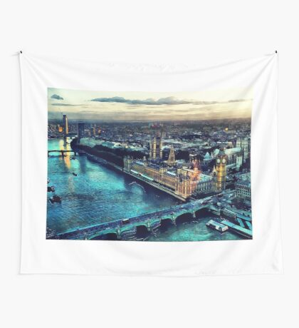 London city Wall Tapestry