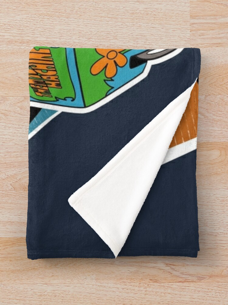 Alternate view of MYSTERY PALS Throw Blanket