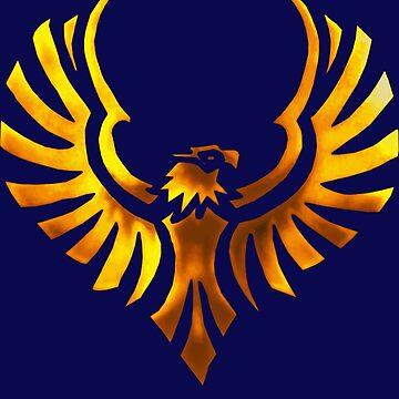 Phoenix - Golden by mazoweb
