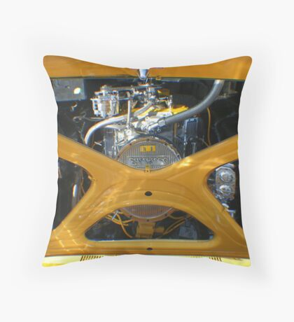 Mirror Mirror in the Hood Throw Pillow