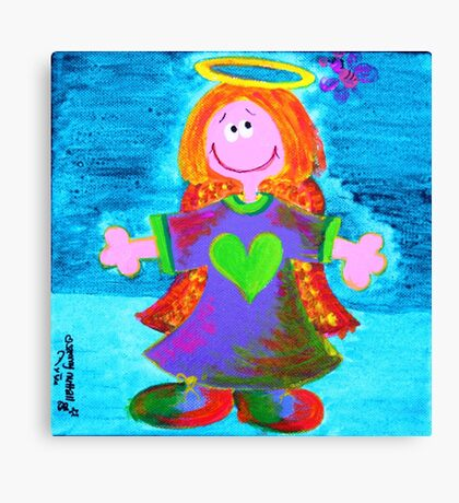 Shelby's Angel Canvas Print
